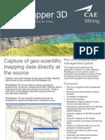 CAE Mining MineMapper 3D Brochure