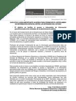 Acuerdo para promover el intercambio de información espacial entre entidades públicas