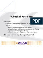 womens volleyball scout call