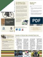 Dallas Police Department Bike Safety Flier