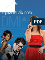 Musicmetric Digital Music Index DMI Report 2012