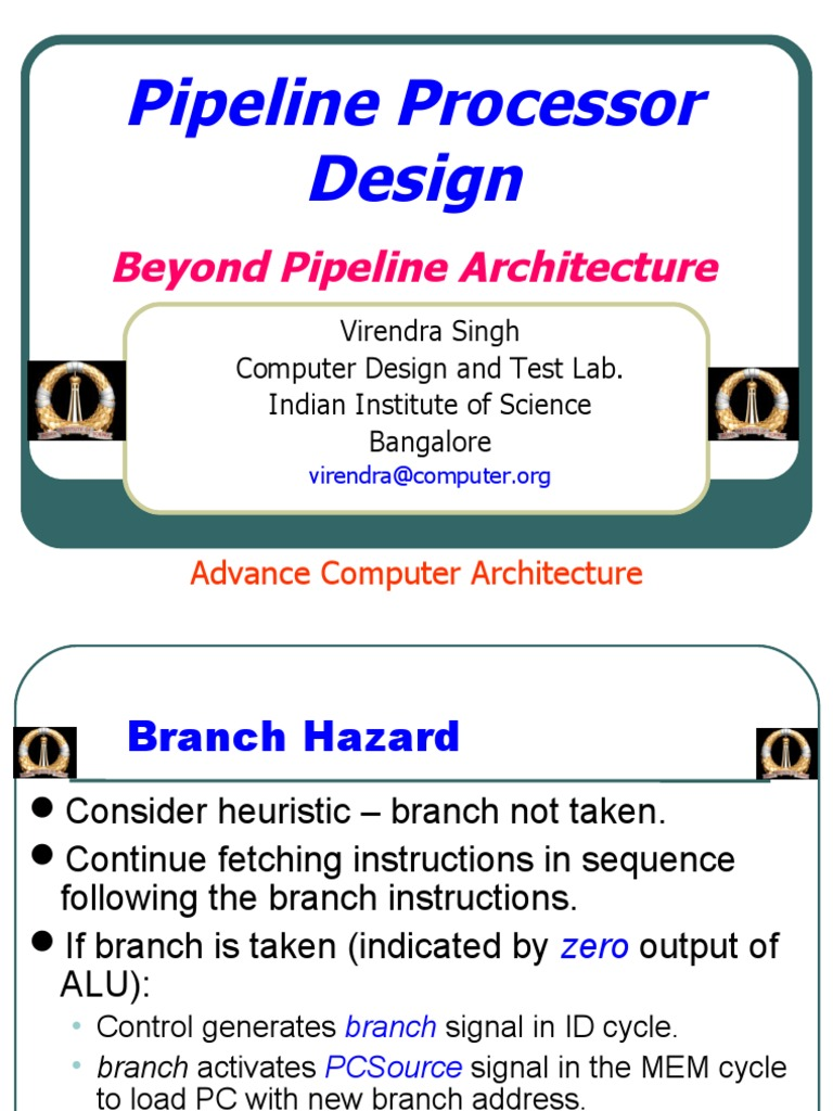Beyond Pipelined Designpdf Central Processing Unit Instruction Set