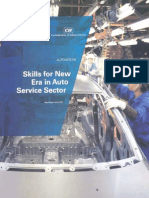 Skill Gap in Auto Services Sector