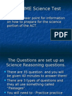 Science ACT Help