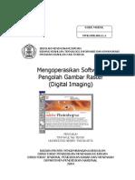 Mengoperasikan Software Gambar Raster