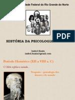 Histria Da Psicologia - Os Filsofos Gregos