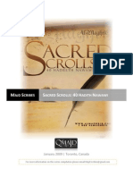 Sacred Scrolls Master Notes- Majd