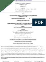 NORTH AMERICAN GALVANIZING & COATINGS INC 10-K (Annual Reports) 2009-02-20
