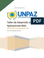 Taller de Desarrollo de Aplicaciones Web