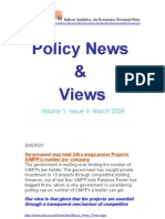 Economic Policy News and Views March 2009