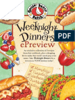 Weeknight Dinners ePreview