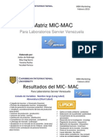 MATRIZ MIC-MAC LAB.SERVIER S.A  Joelys De Nobrega, Meyling Ibarra, Yecsibel Parisca