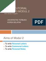Writing 3 Modul 2_Ayodya