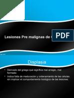 Lesiones Pre Malignas