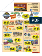 Nature's Supply March Flyer 2013