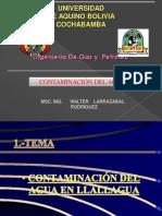 WALTER PROBLEMA CONTAMINACION DEL AGUA.pptx
