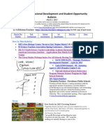 RI Science Professional Development and Student Opportunity Bulletin 3-1-13