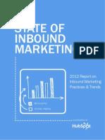 2012 Inbound Marketing