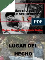 1. Registro Del Lugar Del Hecho