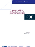 tt 3 7 a users guide to reflective practice 2008