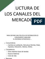 Estructura de Los Canales de Distribucion