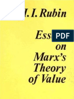 Isaak Illich Rubin-Essays on Marx's Theory of Value