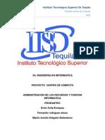 Administracion de Los Recursos y Funcion Informatica(Proyecto)