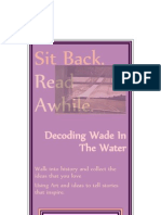 Poster For Decoding Wade In The Water