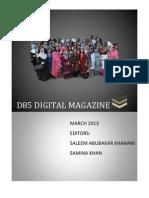 D85 DIGITAL MAGAZINE MARCH 2013-