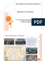 Geografia Do Parana Humana