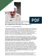 Die Weltpolitischen Ziele Hinter Dem Papst-Sturz