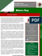 Boletín México Hoy. Marzo 2013