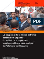 La nueva extrema derecha en España. El caso de PxC. Aitor Hernandez Carr