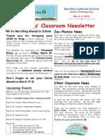 Week 26 Newsletter