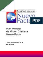 Plan Mundial Mision Cristiana Nuevo Pacto