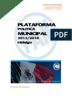 Platafoma Electoral PAN