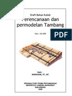 modul perencanaan permodelan tambang www.genborneo.com.pdf