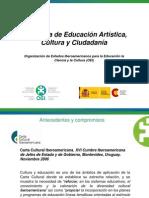 Analía Rosoli - Programa de  Educación Artística Cultura y Ciudadanía