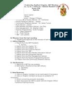 Winterabt Meeting Agenda - 2012feb25