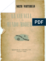 Whitehead-Ciencia y Mundo Moderno BOOK