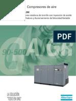 Catalogo Atlas-copco Gagr90-500 Ff Vsd