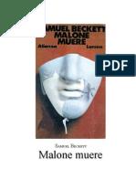 Beckett, Samuel - Malone Muere
