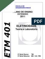 Etm401 Plano de Ensino Estendido 2012
