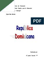 República  Dominicana Trabajo Completo