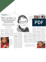Silvia Carvalho e as lições da primeira humanidade