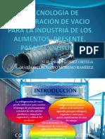 TECNOLOGÍA DE REFRIGERACIÓN DE VACIO