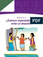 Modulo 2 - ¿Estamos organizados para evitar un desastre?