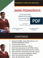 """II  Jornada Pedagógica 2013 de la I.E. Nº 1021 """"República Federal de Alemania"""""""