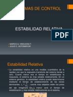Estabilidad Relativa