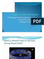 Signs in the Heavens_Passover2013
